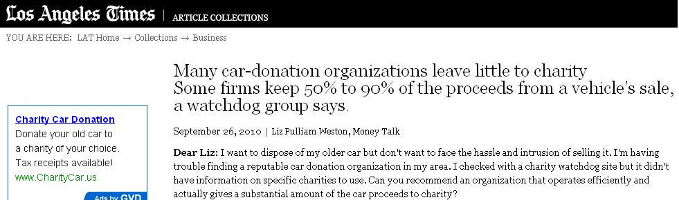 LA Times charity ss